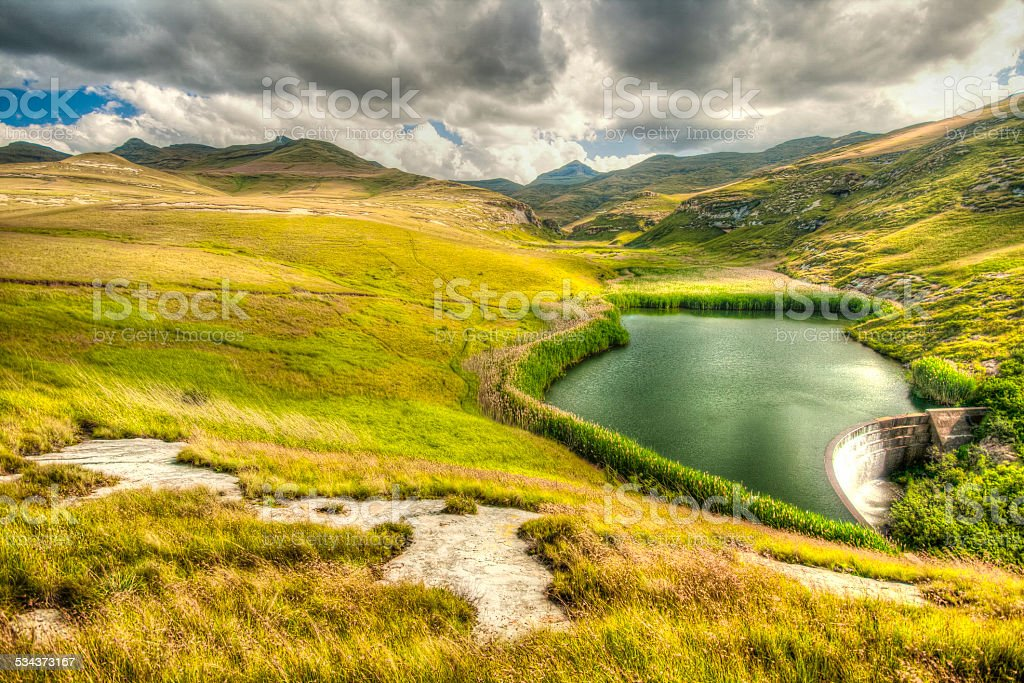 Golden Gate Highlands Park stock photo