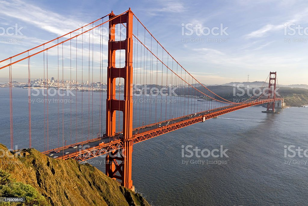 Golden Gate landscape royalty-free stock photo