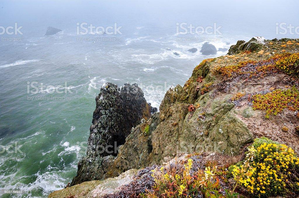Golden Gate National Recreation Area, Point Bonita Light stock photo