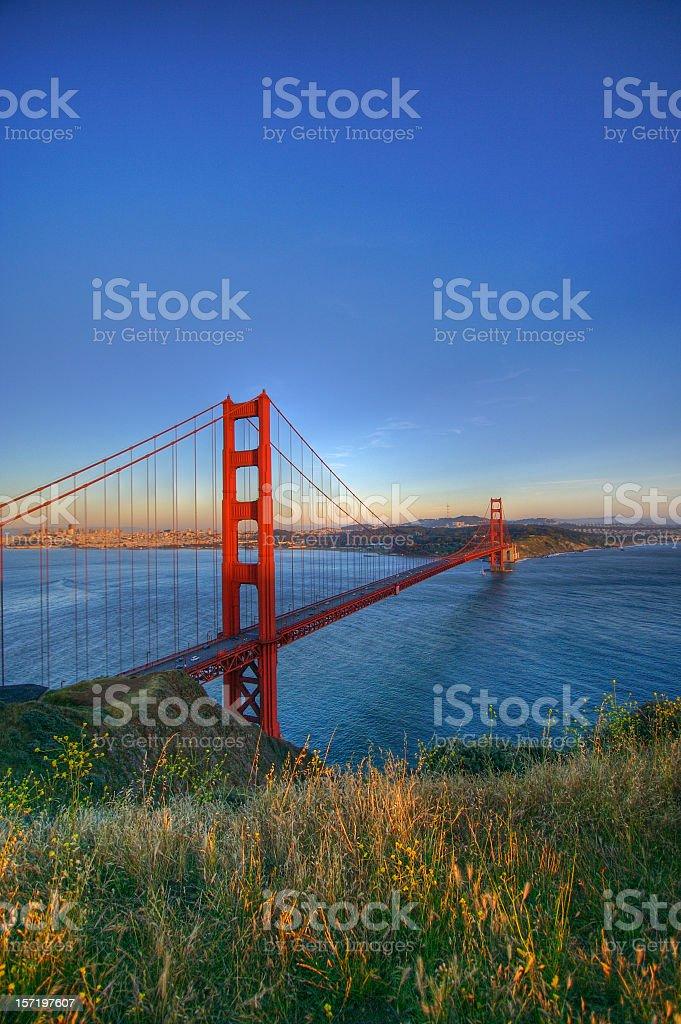 Golden Gate royalty-free stock photo