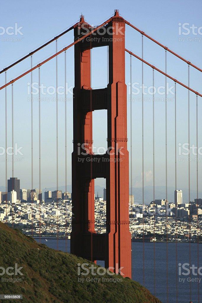 Golden Gate photo libre de droits