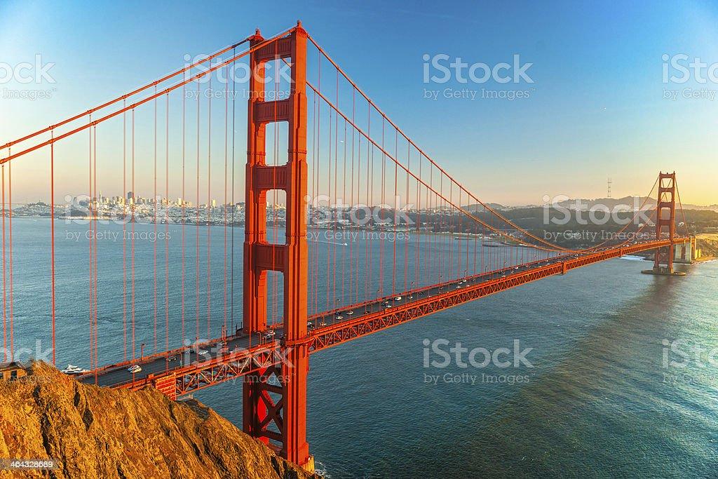 Golden Gate Bridge, San Francisco, Kalifornien, USA. – Foto