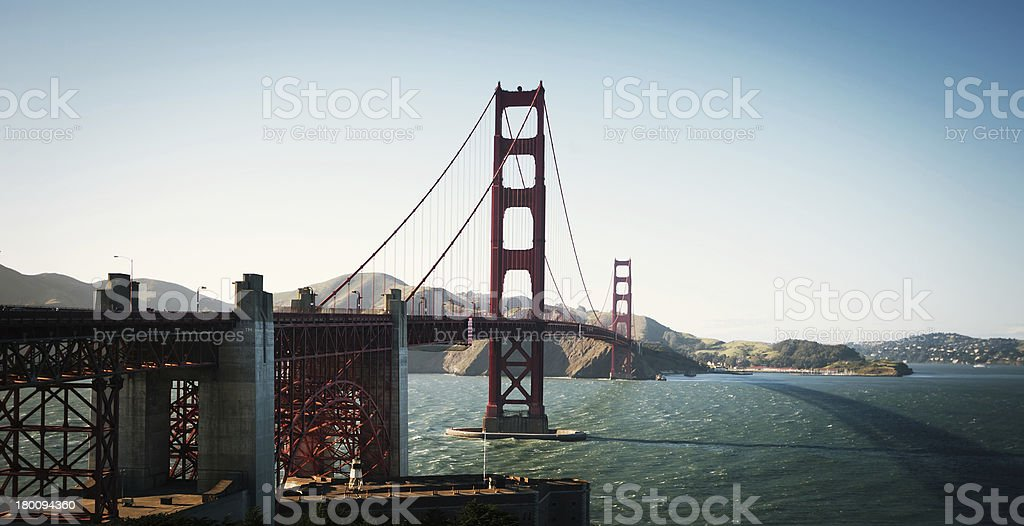 Golden Gate San Francisco royalty-free stock photo