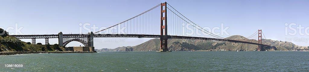 Golden Gate - San Franciso Bay (XXXL) royalty-free stock photo