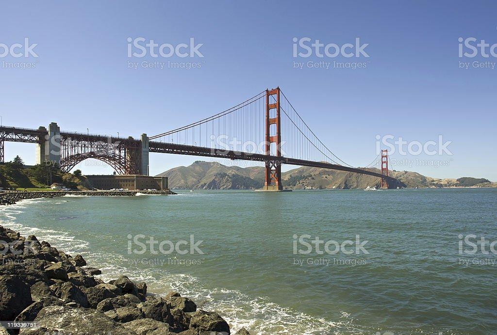 Golden Gate - San Franciso Bay stock photo