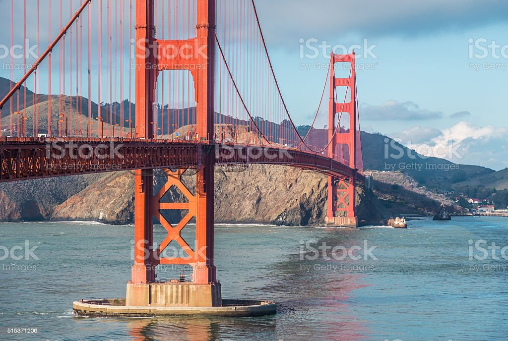 Golden Gate - travel attraction. San Francisco, USA stock photo
