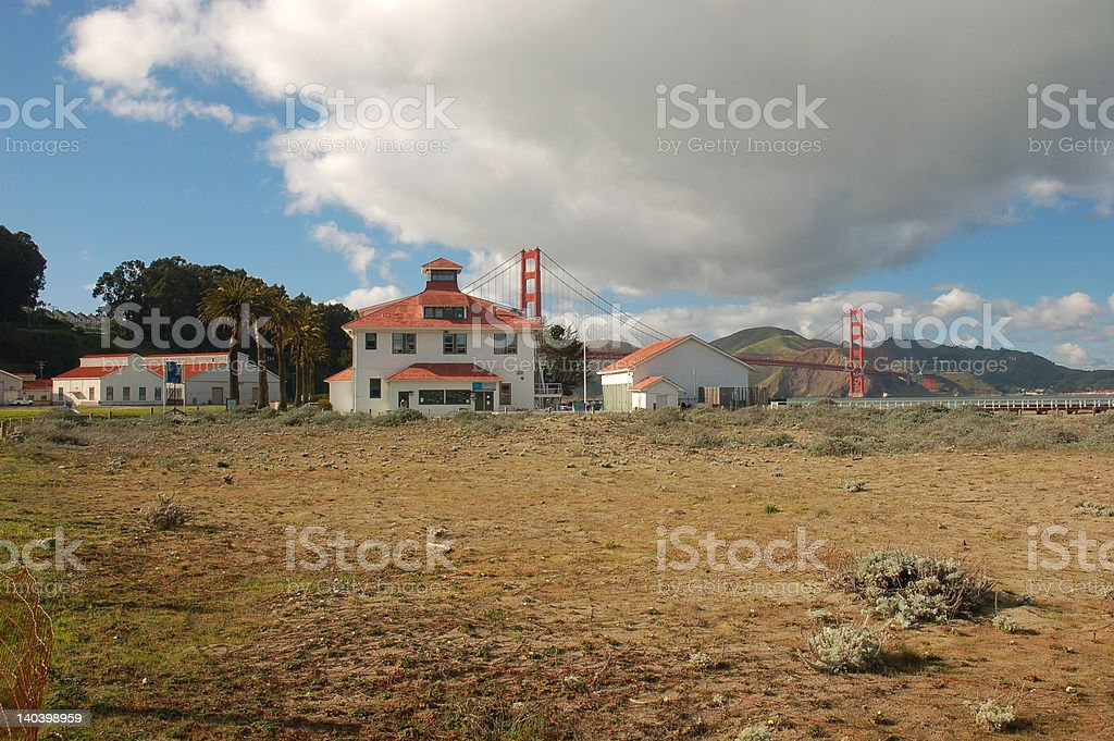 Golden Gate view royalty-free stock photo