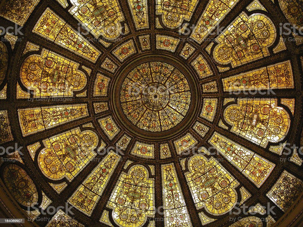 Golden Glass royalty-free stock photo