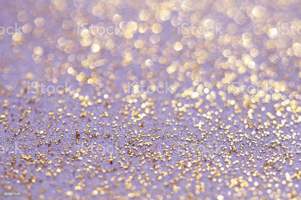 golden glitter sparkles dust background royalty-free stock photo