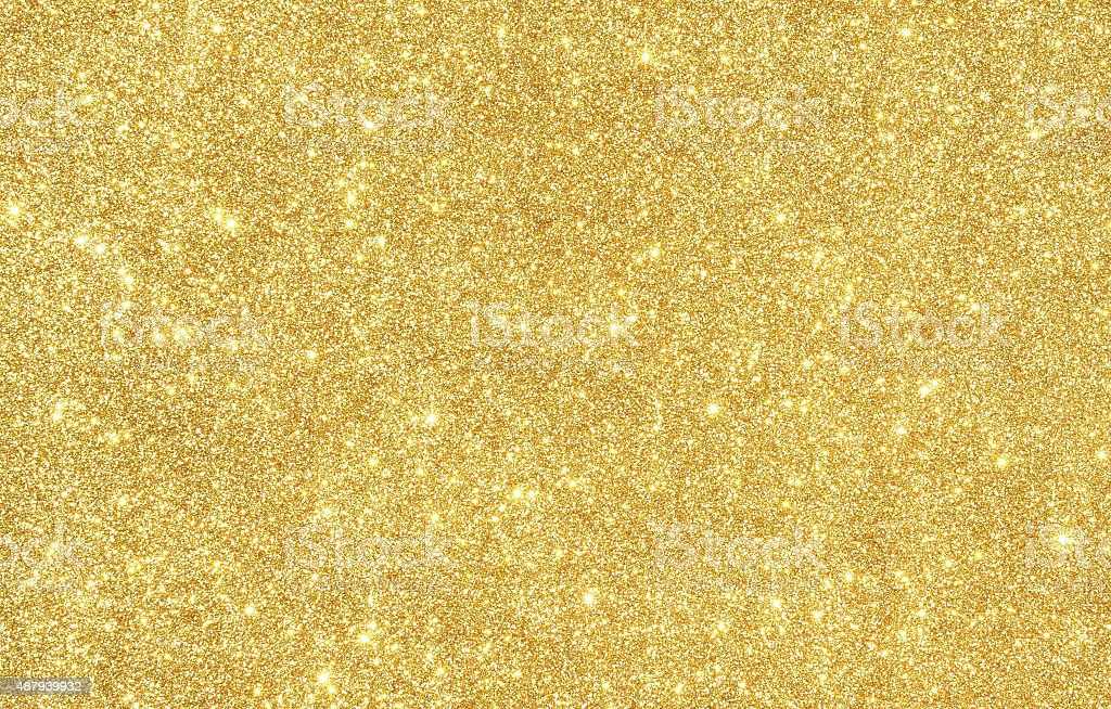 Golden glitter texture background stock photo