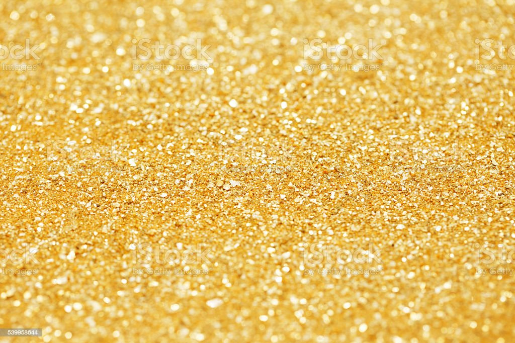 golden glitter texture background stock photo