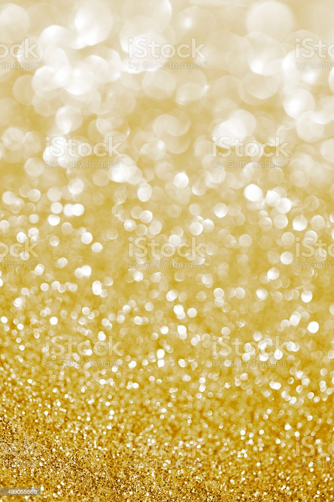 golden glittering background stock photo
