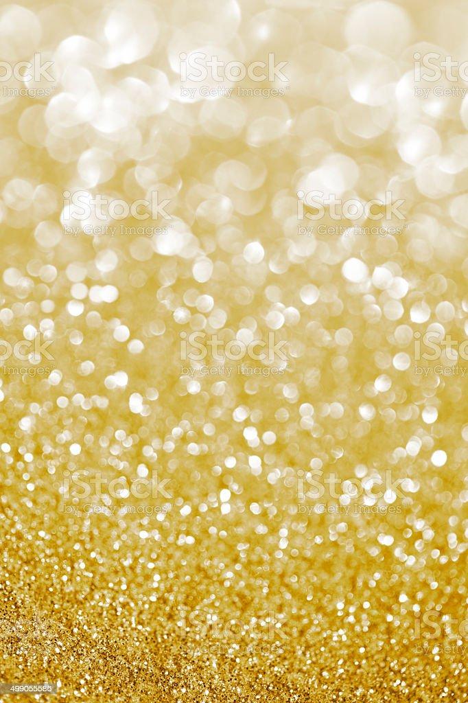 golden glittering background stock photo