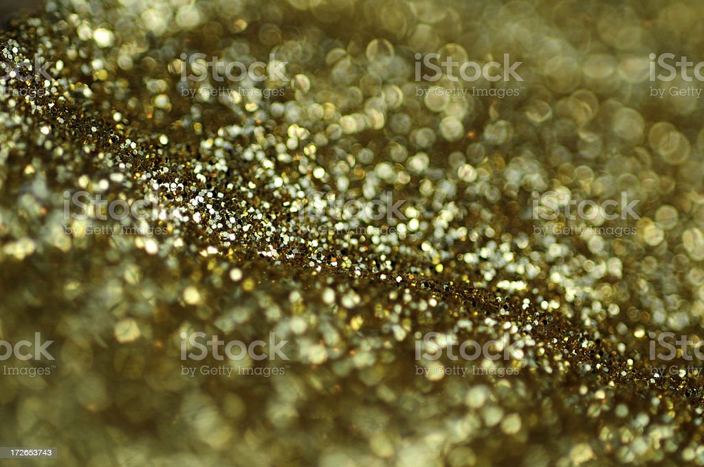Golden Glitter-XL royalty-free stock photo