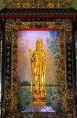 Golden Guan-Yin, Wat Yaowarat, Bangkok Thailand.