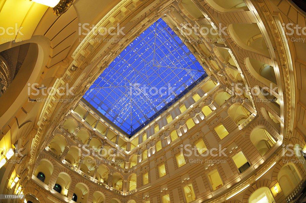 golden hall royalty-free stock photo