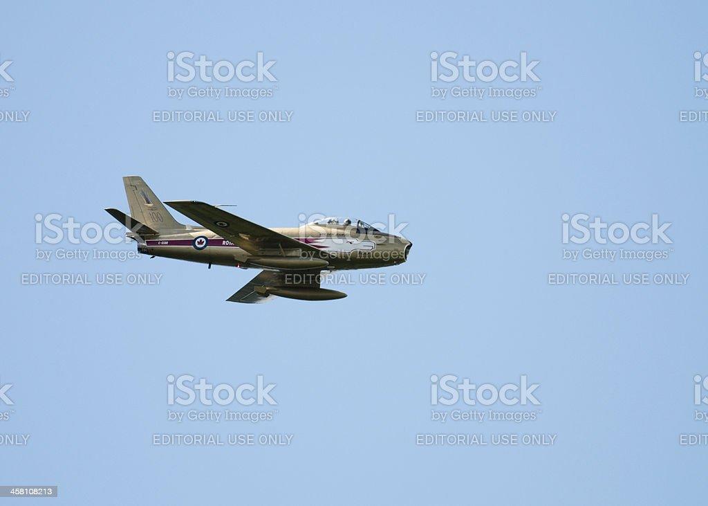 Golden Hawk Jet stock photo
