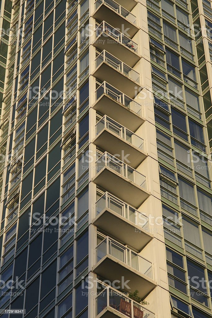 Golden High Rise stock photo