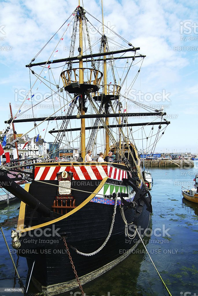 Golden Hind royalty-free stock photo
