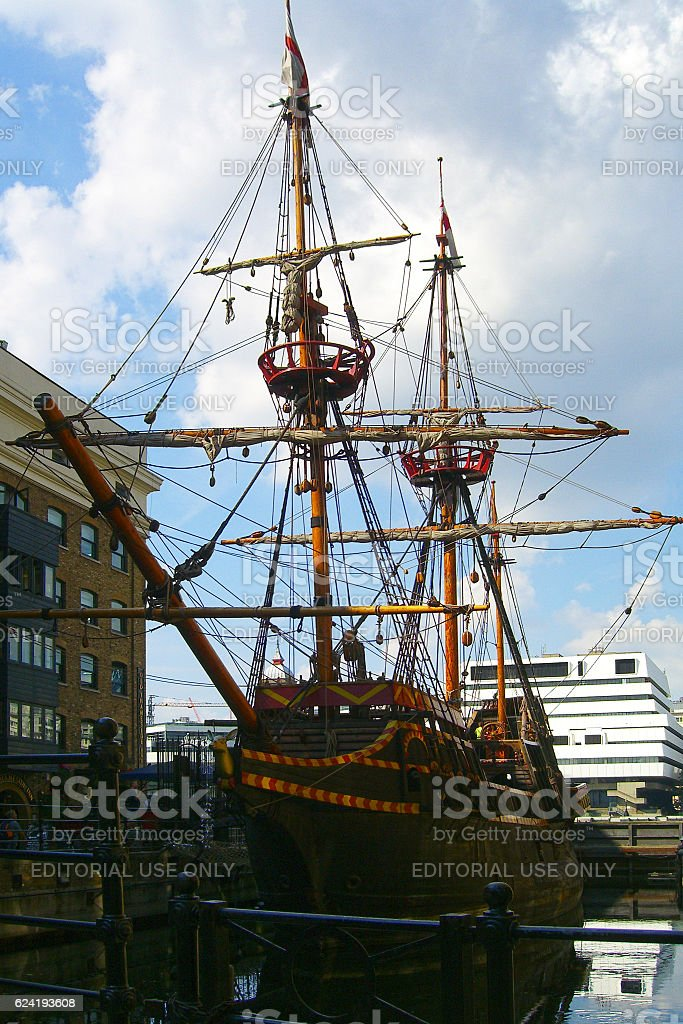 Golden Hinde II stock photo