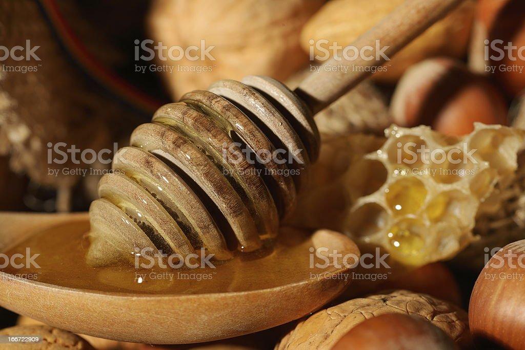 golden honey royalty-free stock photo