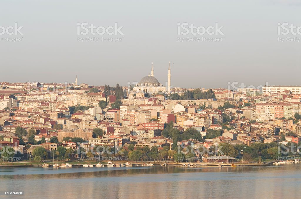 Golden Horn / Istanbul stock photo