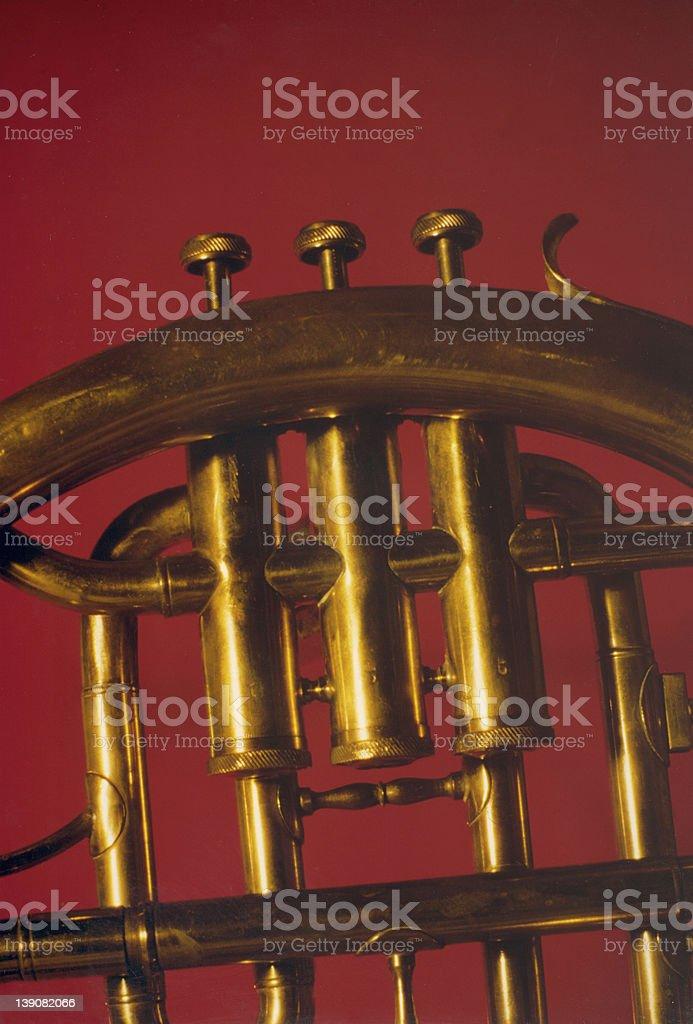 Golden horn royalty-free stock photo