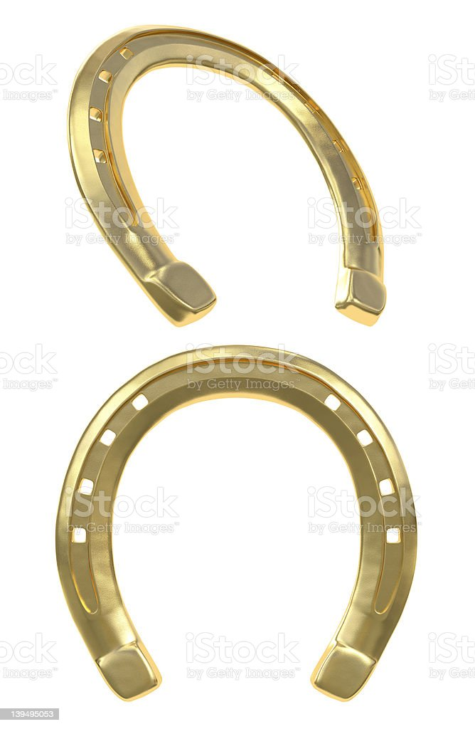 Golden Horseshoe stock photo