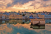 Golden Hour in Lake Pichola - Udaipur