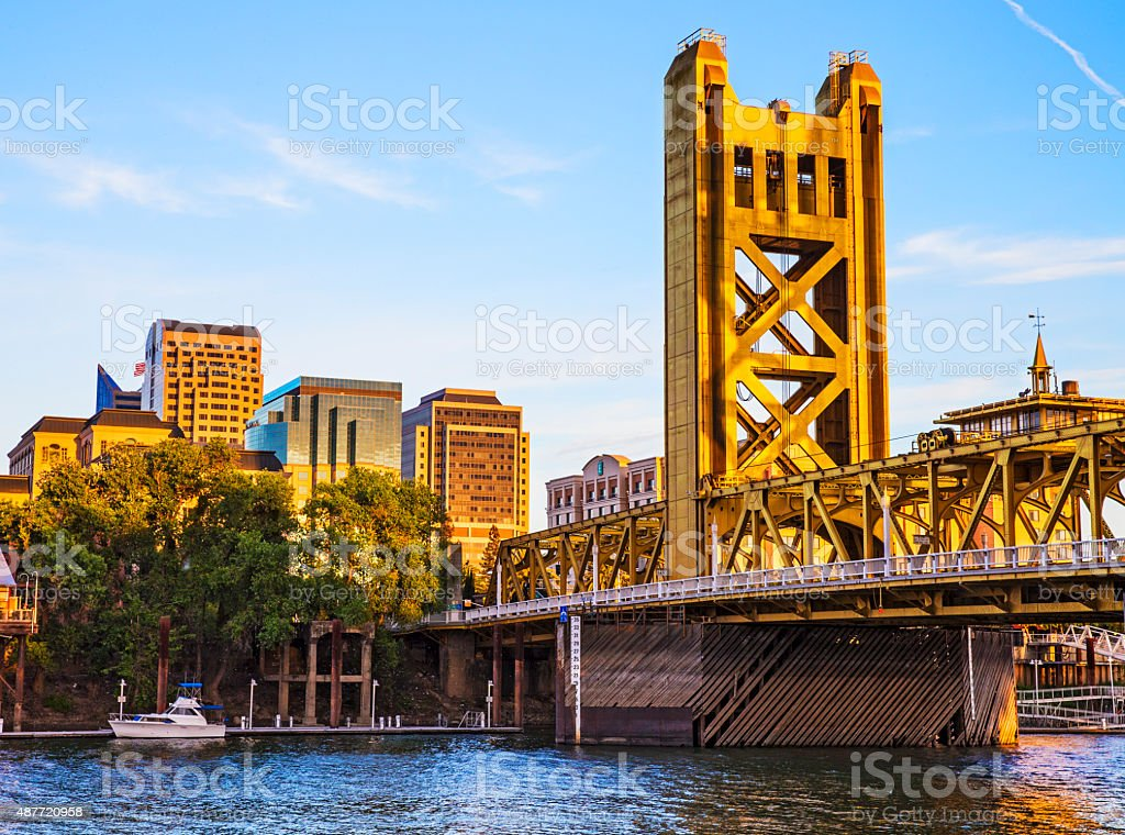 Golden Hour stock photo