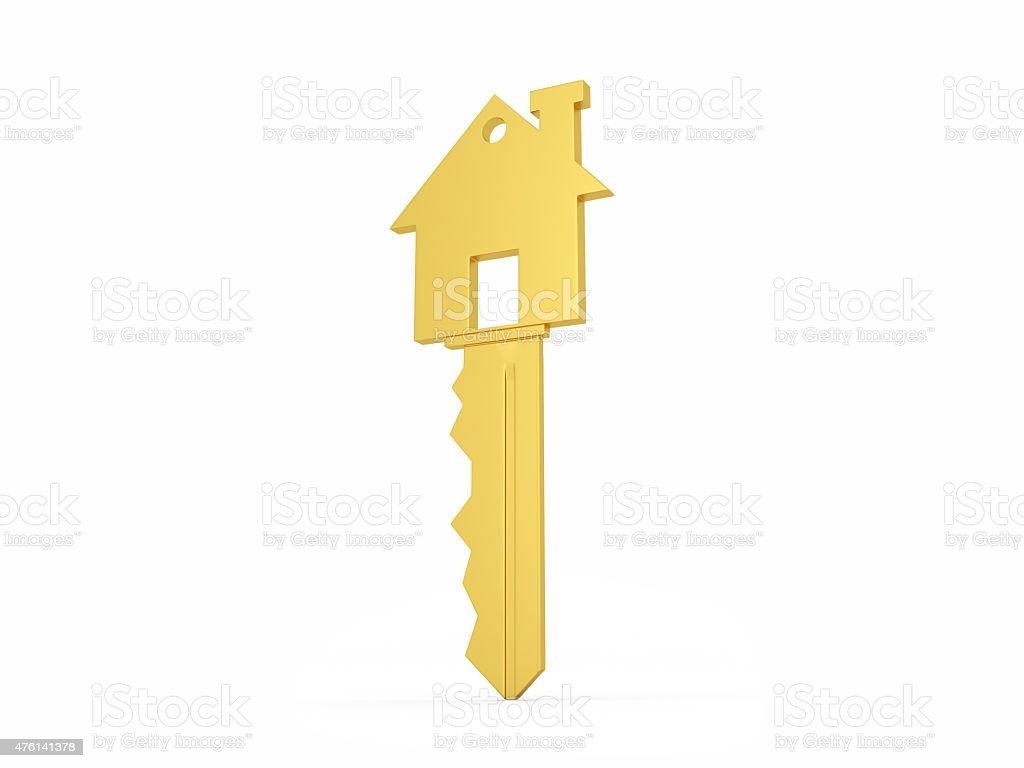Golden House Key stock photo 476141378 iStock