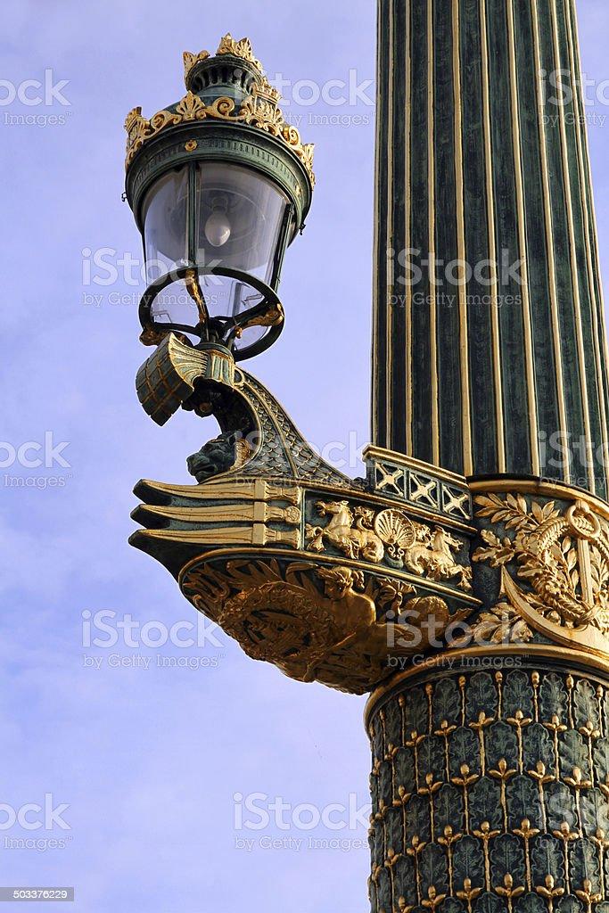 Golden Lamp royalty-free stock photo