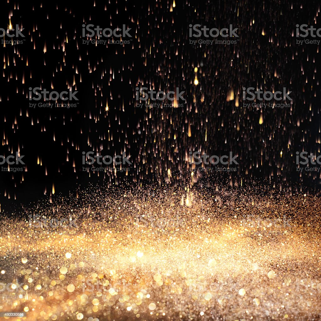 Golden light background stock photo