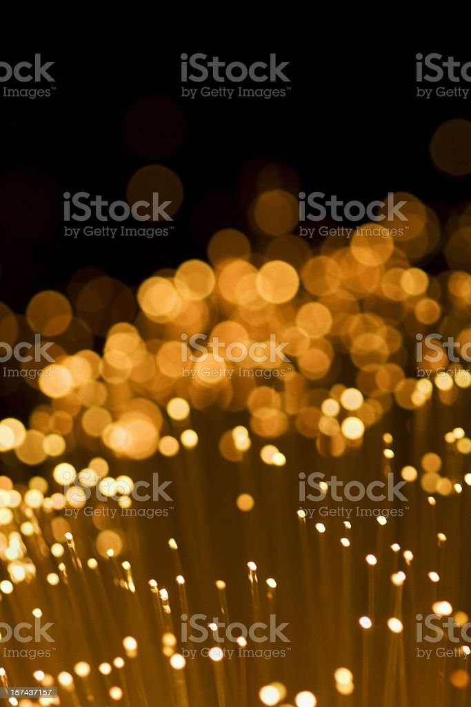 Golden Lights background royalty-free stock photo