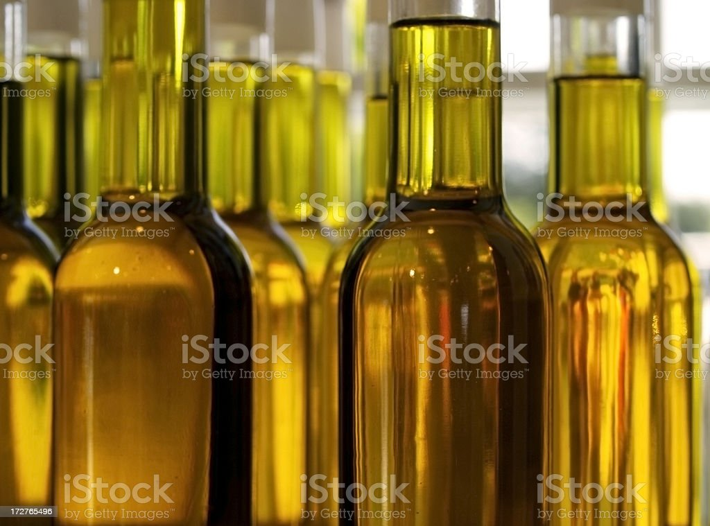 Golden liquid stock photo