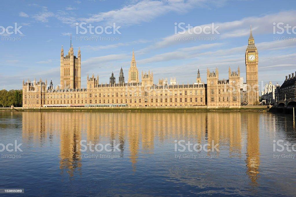 Golden London royalty-free stock photo