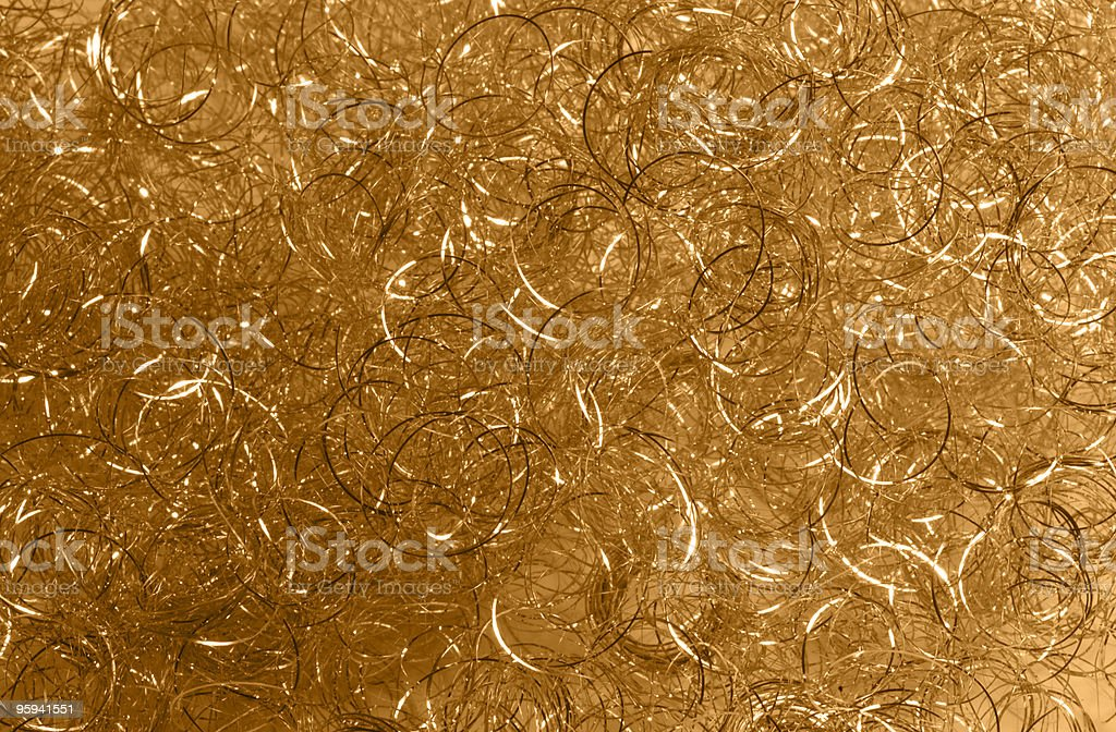 golden loops stock photo