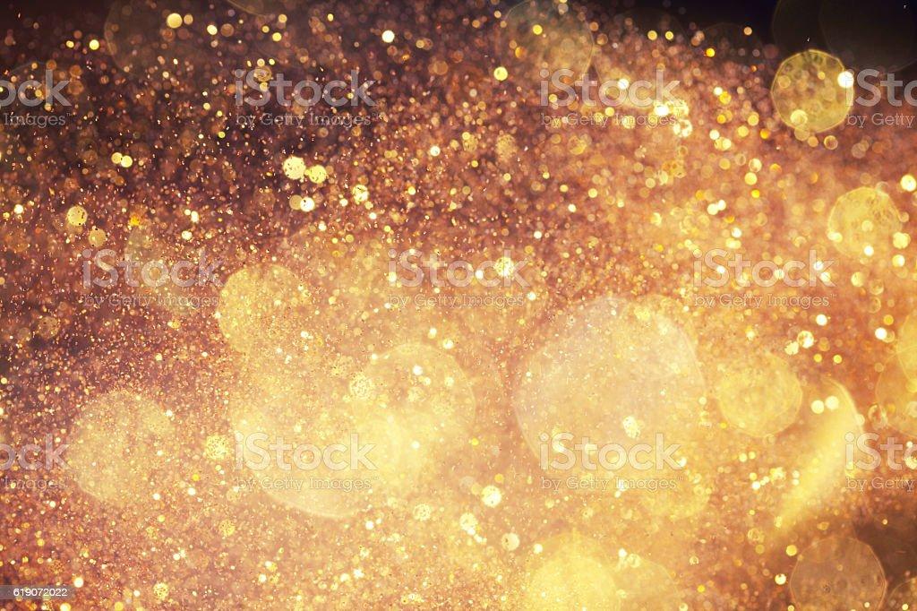 Golden luxurious background stock photo