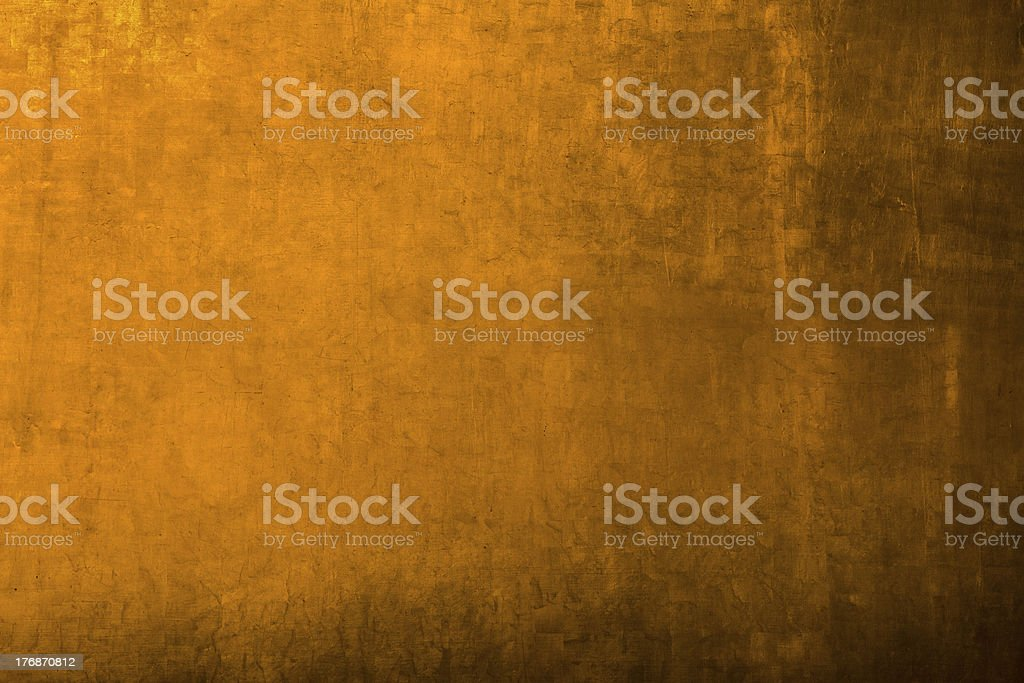 golden metal background royalty-free stock photo