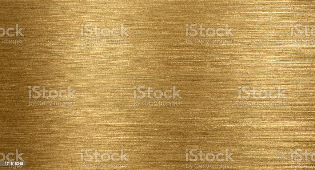 Golden metal royalty-free stock photo