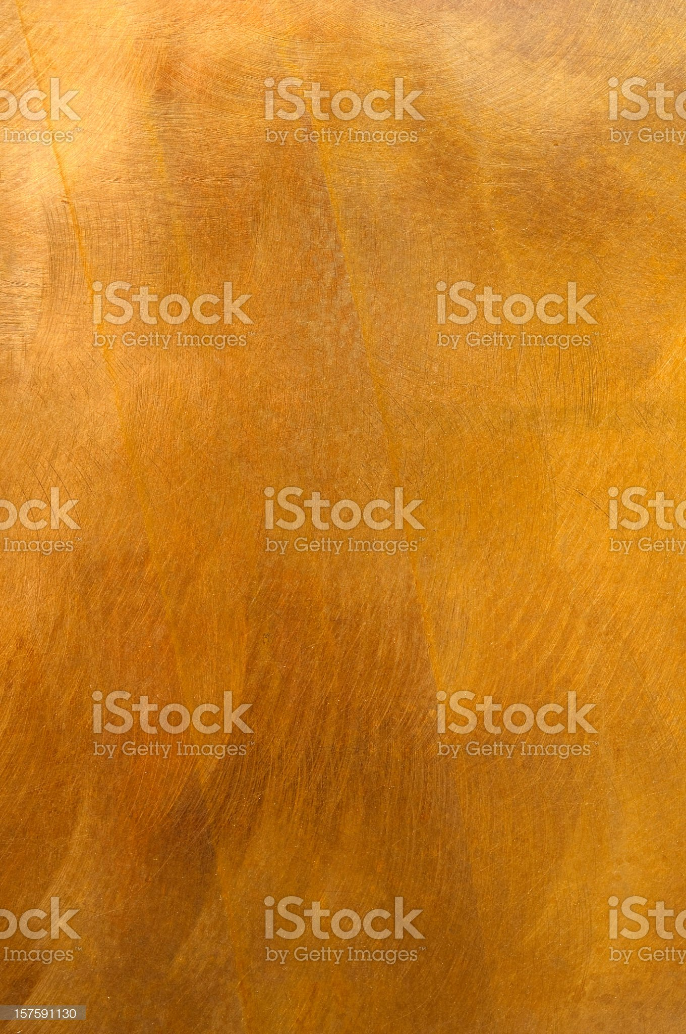 Golden metal plate mottled brass background XL royalty-free stock photo