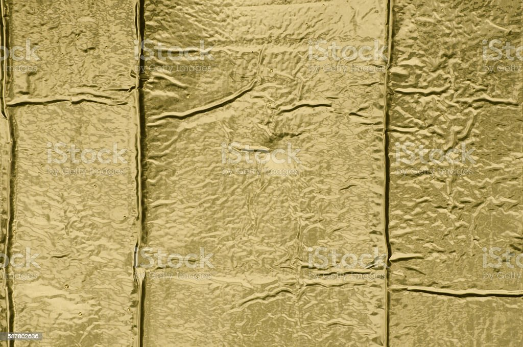 golden metallic paper background texture stock photo
