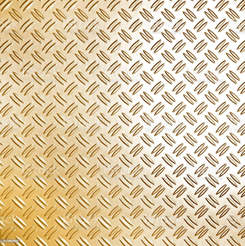 Golden metallic surface stock photo