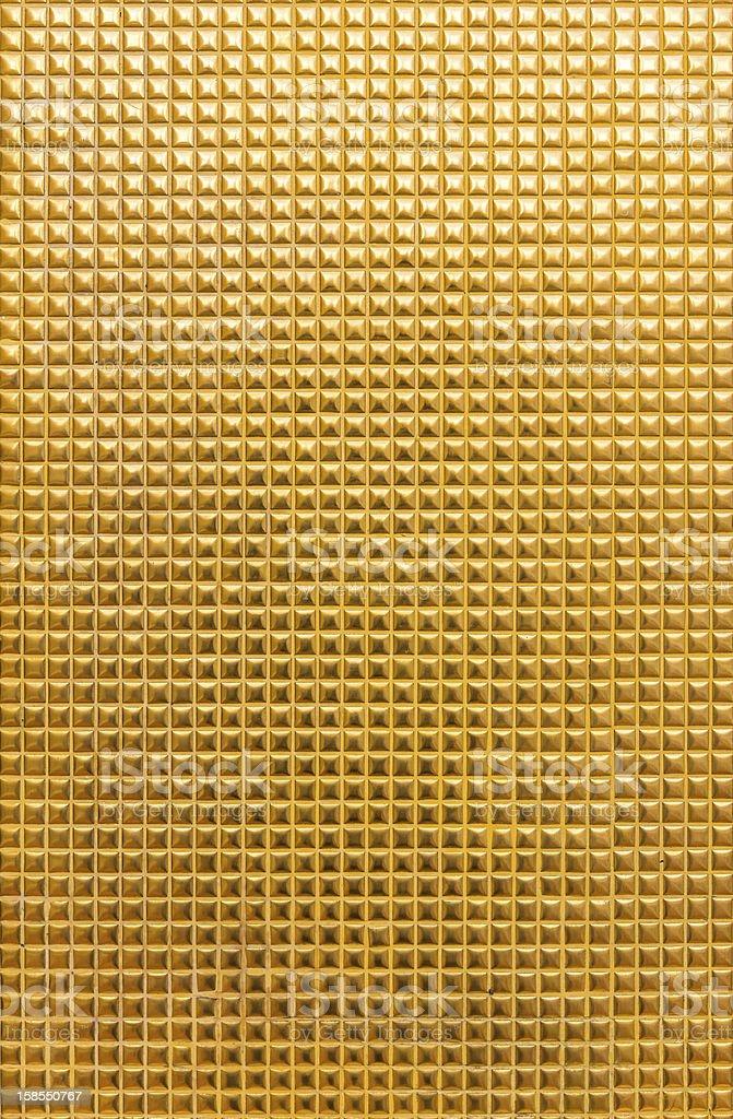 Sfondo di mosaico d'oro foto stock royalty-free