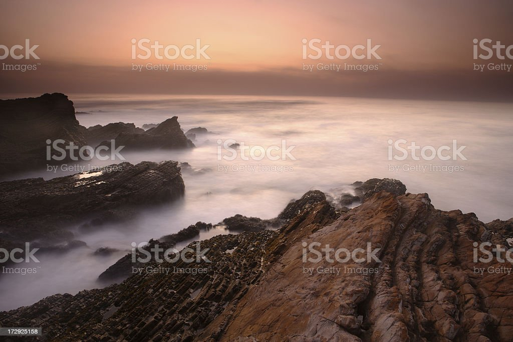 Montana de Oro Shore stock photo