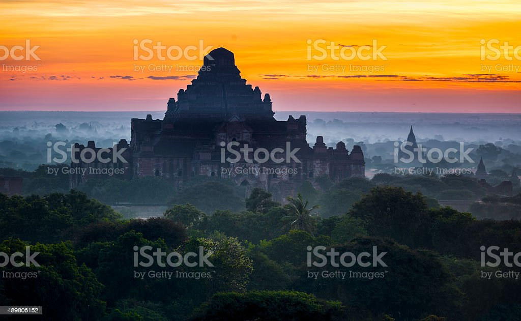 Golden Myanmar Image stock photo