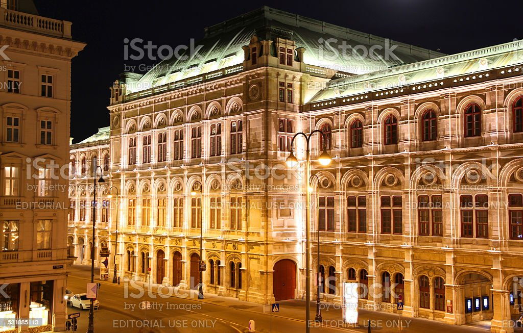 Golden Opera stock photo