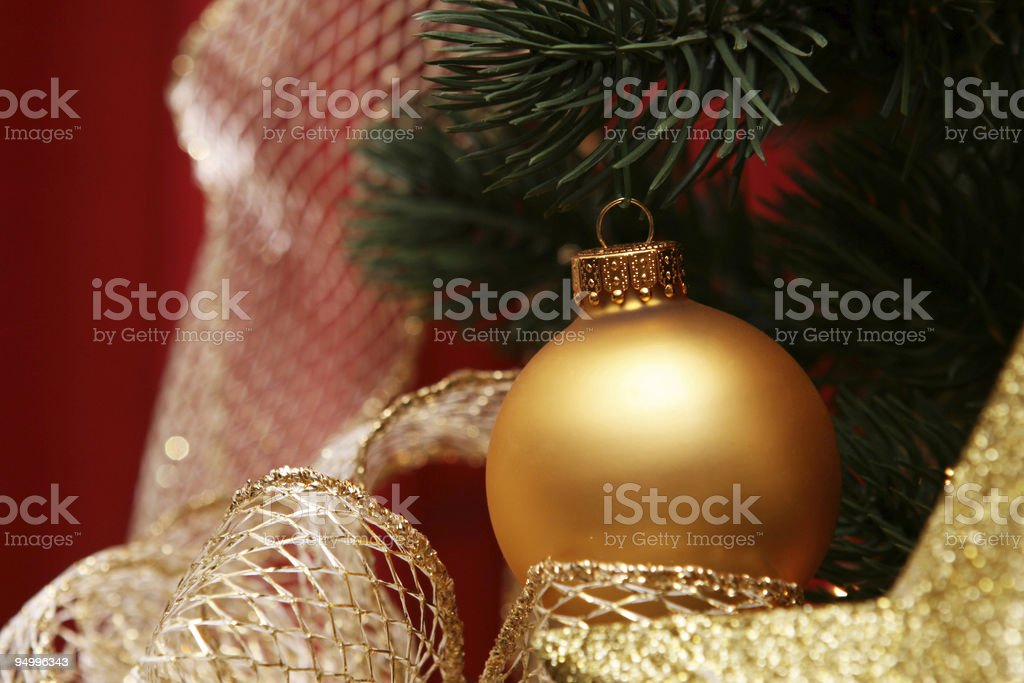 Golden Ornament royalty-free stock photo