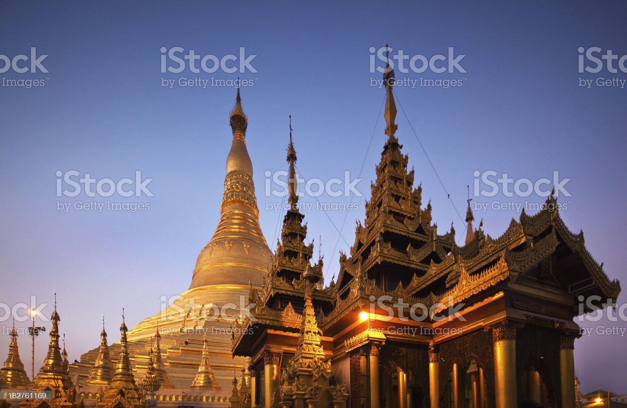 Golden Pagoda royalty-free stock photo