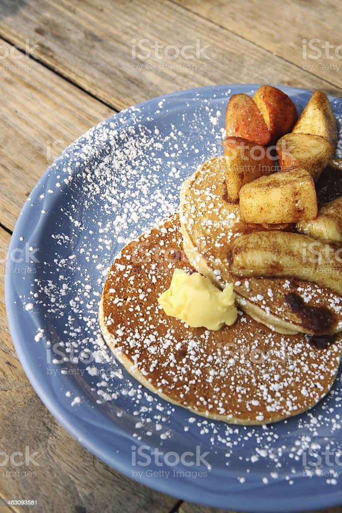 Golden Pancakes stock photo